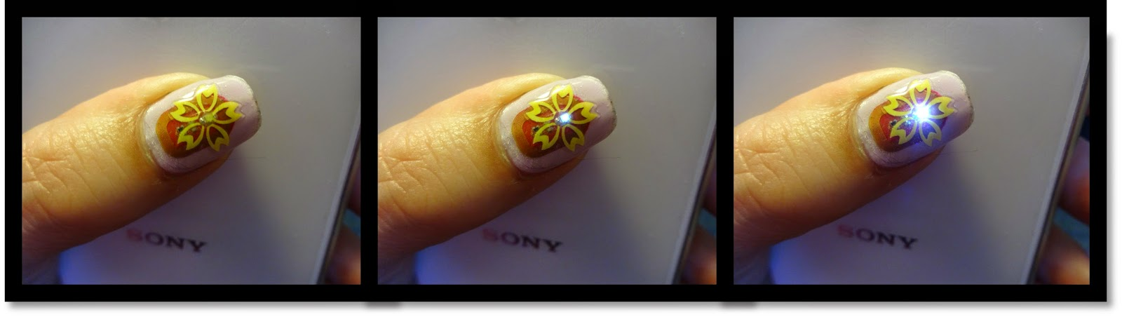 Wendy\'s Delights: Born Pretty Store - NFC Flashing LED Nail Sticker