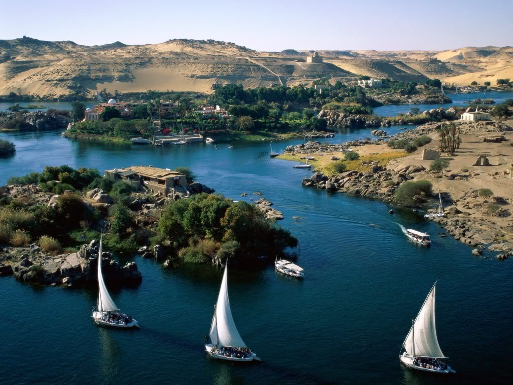 River nile is the largest river in the world in egypt