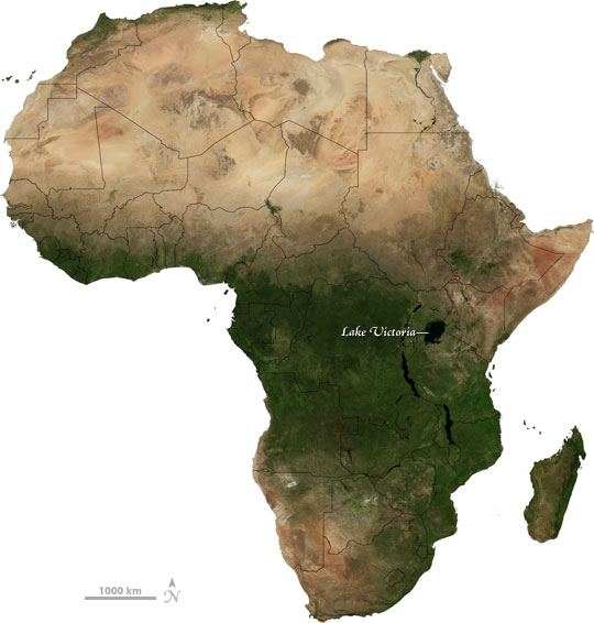 lago rio africa: