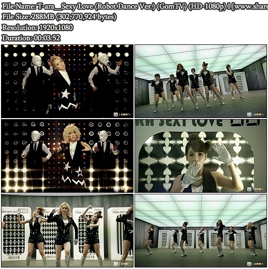 Download MV T-ara - Sexy Love (Robot Dance Version) (GomTV Full HD 1080p)