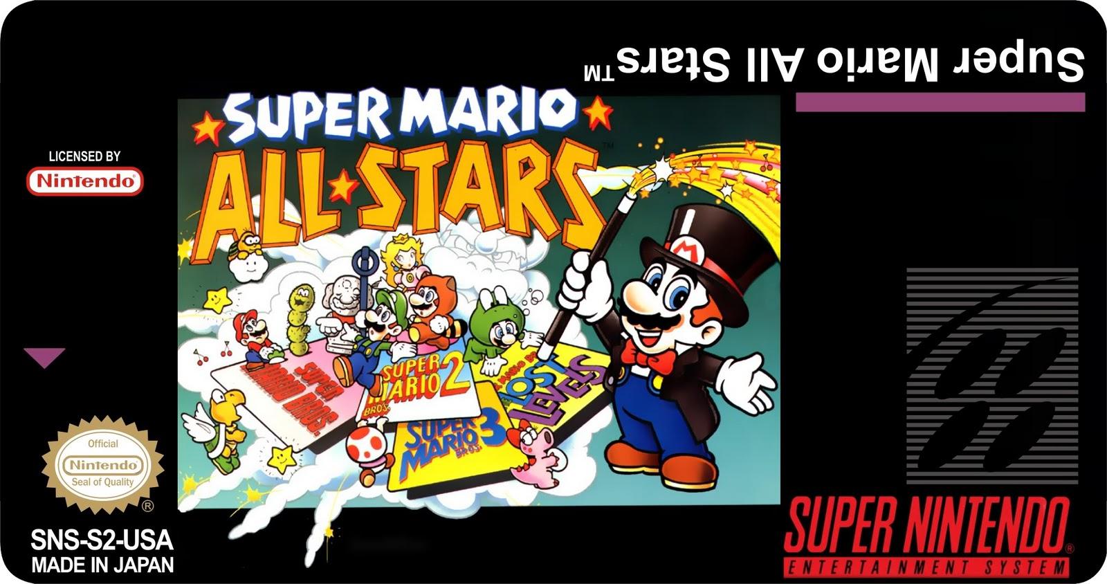 Super Nintendo Labels
