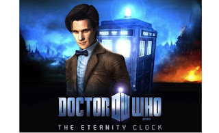 COMPLETED: Enter the our Doctor Who: The Eternity Clock Giveaway