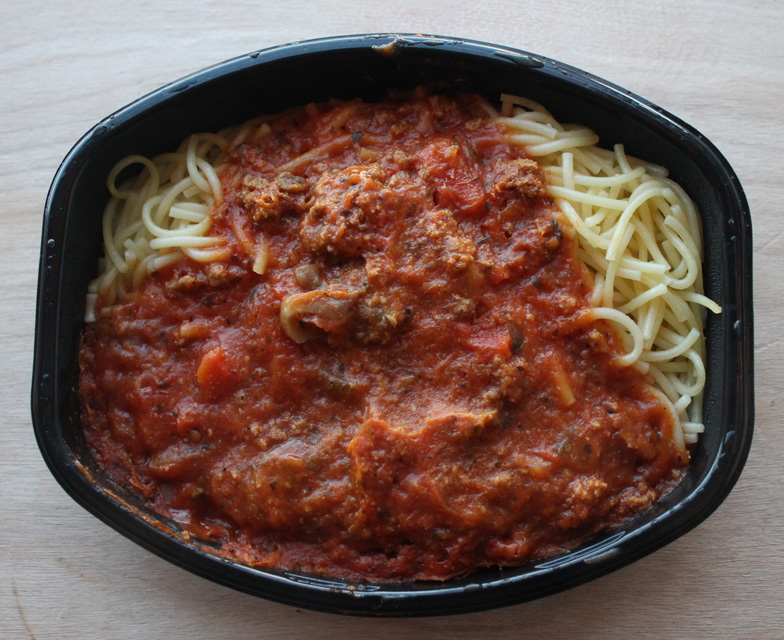 The 99 cent chef lean cuisine 39 s spaghetti with meat sauce for 10 day try it lean cuisine