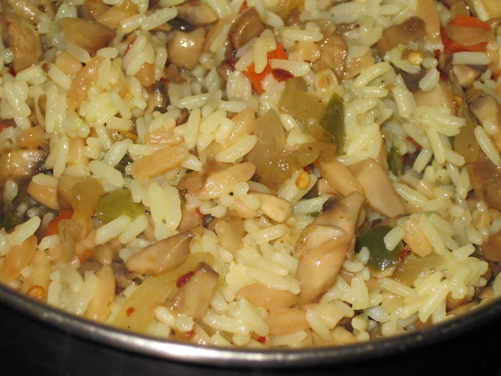 Recipes Re-Mixed: Vegetable Rice Pilaf