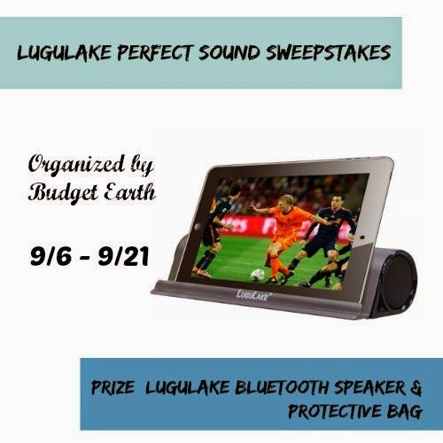 Enter the LuguLake Perfect Sound Giveaway. Ends 9/21.