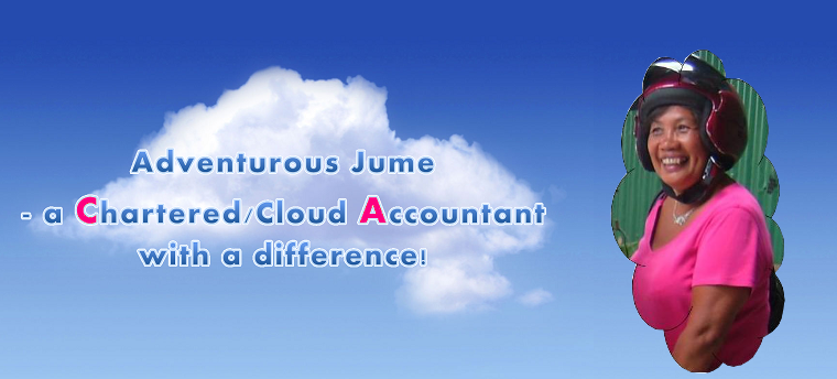 Adventurous Jume - a Chartered/Cloud Accountant with a difference!