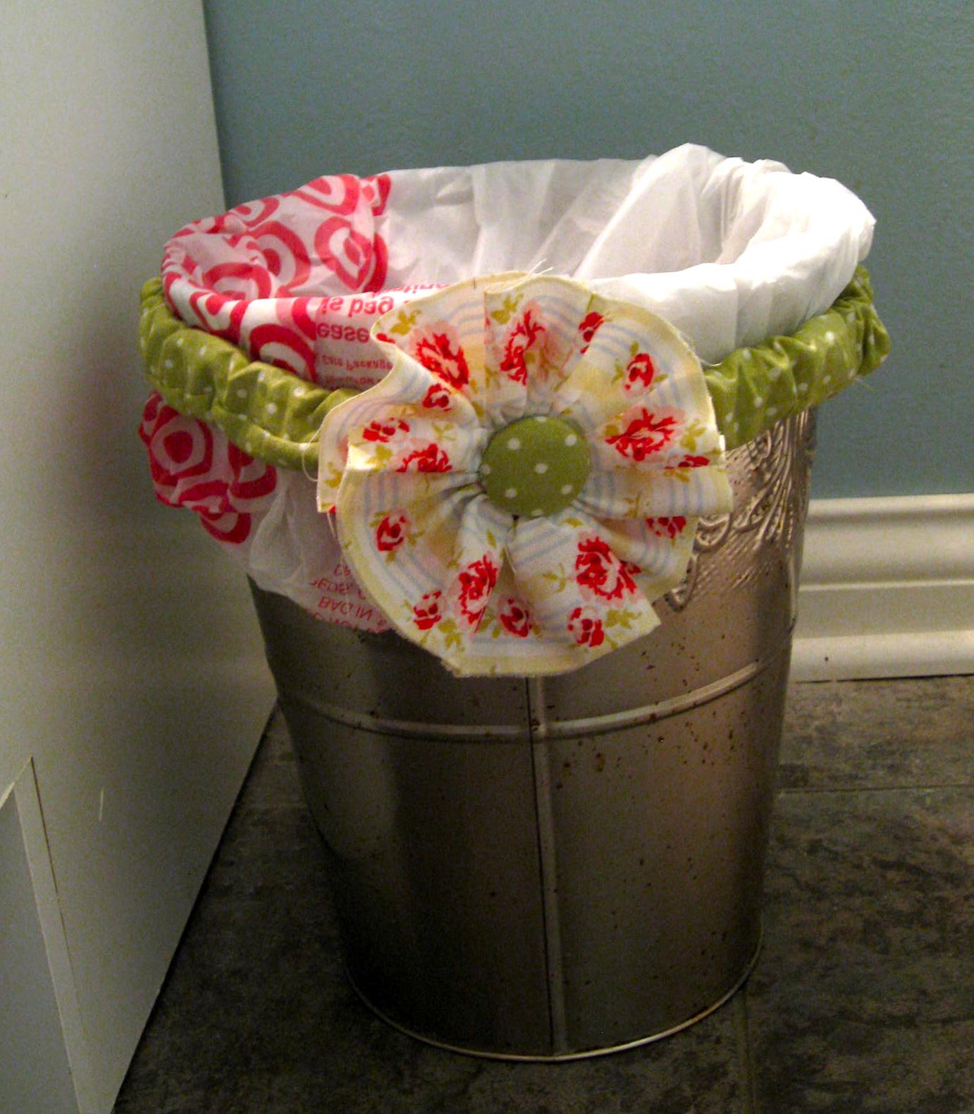 Как сделать мусор на свадьбе