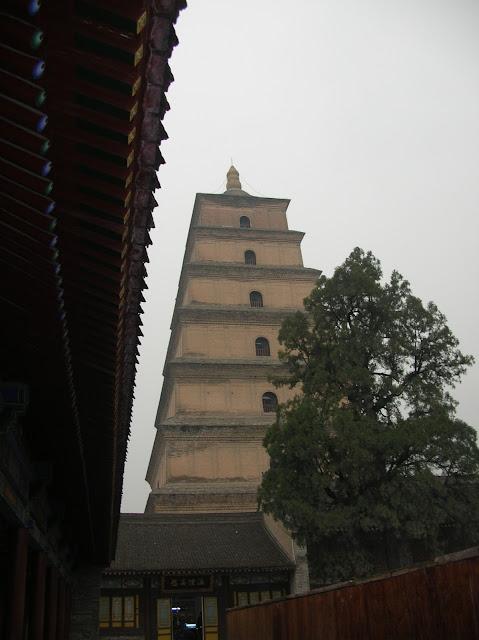 pagoda xian, cina