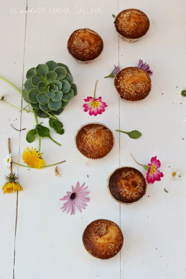 oats and brown sugar muffins