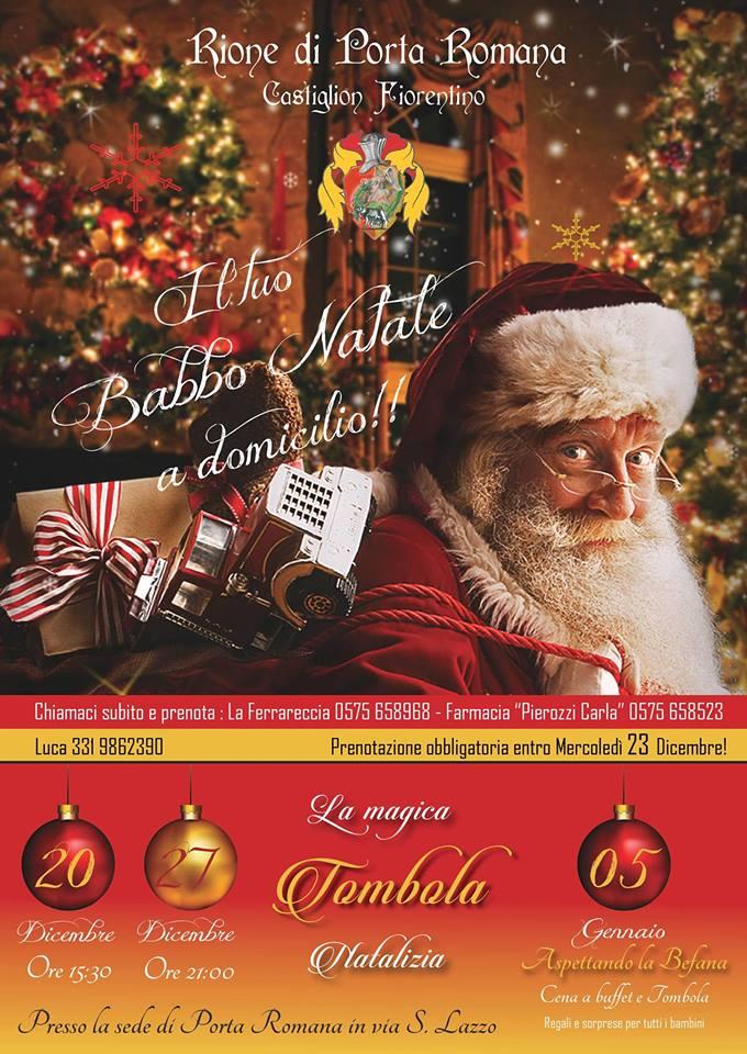 Babbo Natale 7 Cervelli.Rione Porta Romana 2015