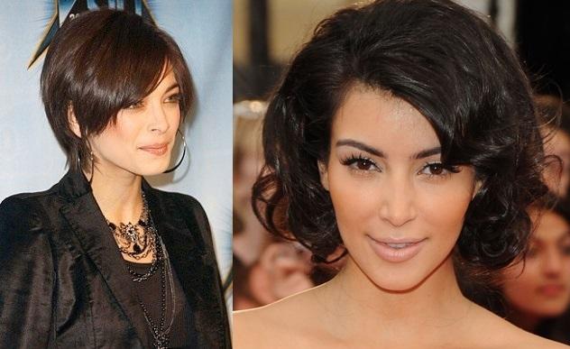 Look para cabello corto de mujer