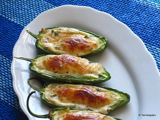 Stuffed Jalapeno Peppers