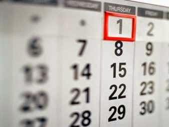 Los calendarios en los sueños
