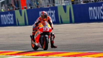 Hasil Kualifikasi MotoGP Aragon Spanyol 2014