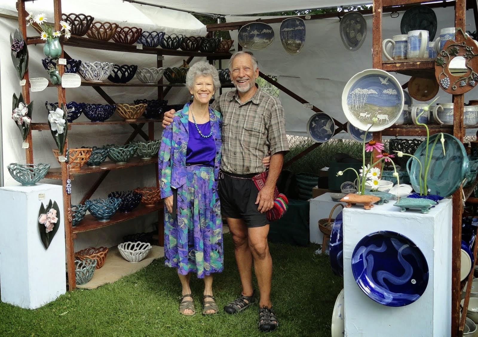 Our fair booth