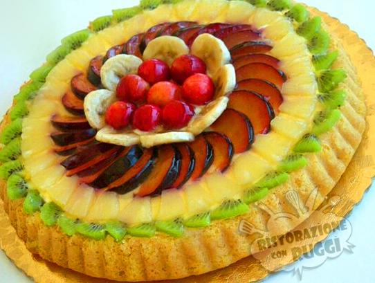 come decorare una crostata di frutta ovvero come mettere