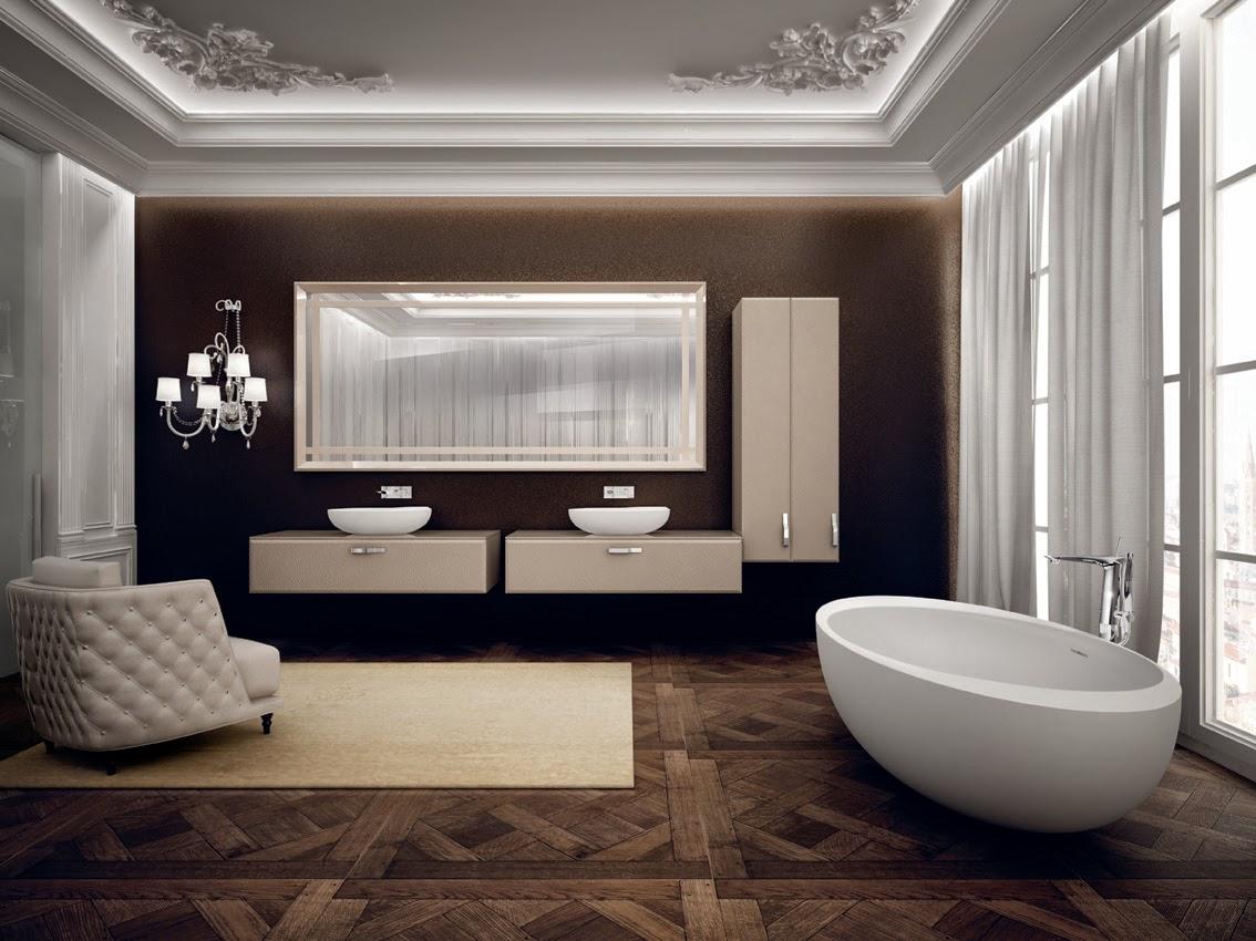Bagno il lusso del benessere con teuco coffee break for Arredo bagno design lusso