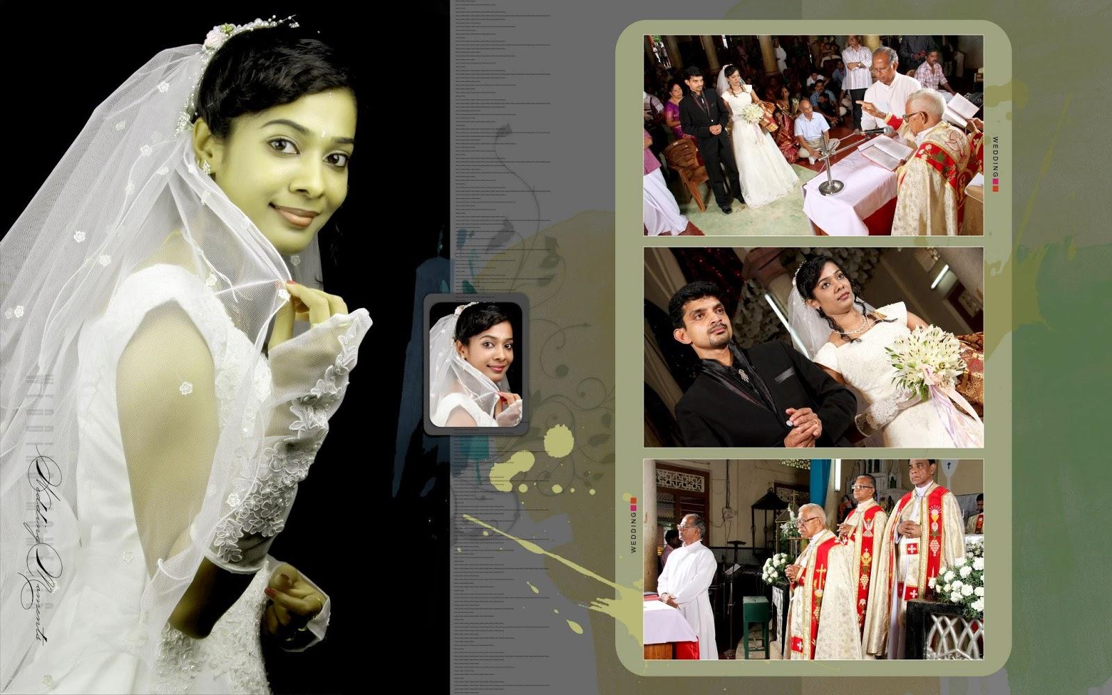 Pin kerala wedding photo albums hd on pinterest for Wedding album design