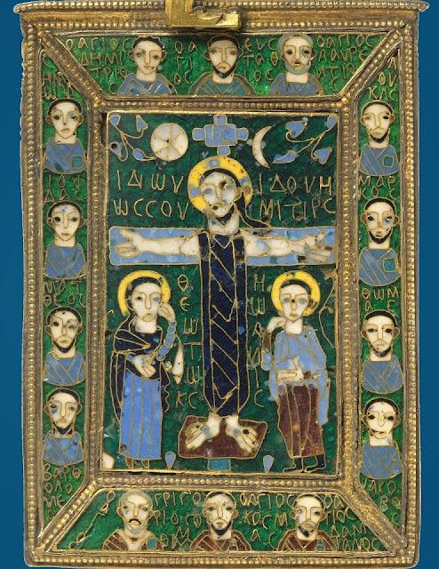 Η βυζαντινή σταυροθήκη Fieschi Morgan http://leipsanothiki.blogspot.be/