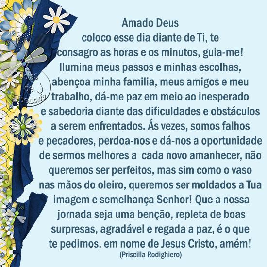 Super Gøŧαs dє sαbєdøriα: Oração do Dia CP14