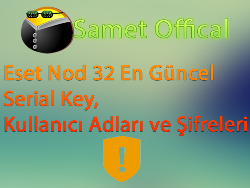 17 02 2015 Eset Nod32 En Guncel Serial Username Password