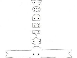 Free Printable Totem Pole Templates