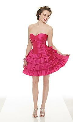 Wedding Dress Modern Party Dresses Design With Pink Short