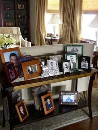 Accessorizing with family photos, decorating, styling, home staging Chicago