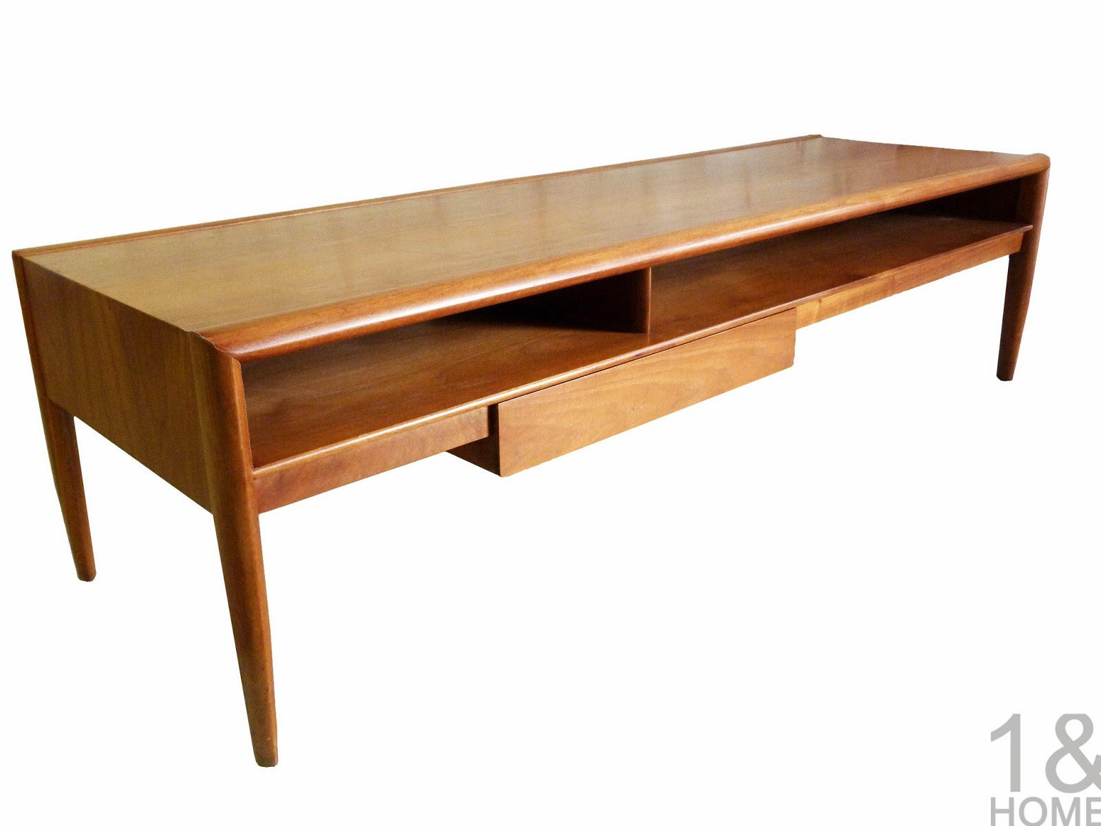 Drexel Parallel Mid-Century Modern Coffee Table by Barney Flagg