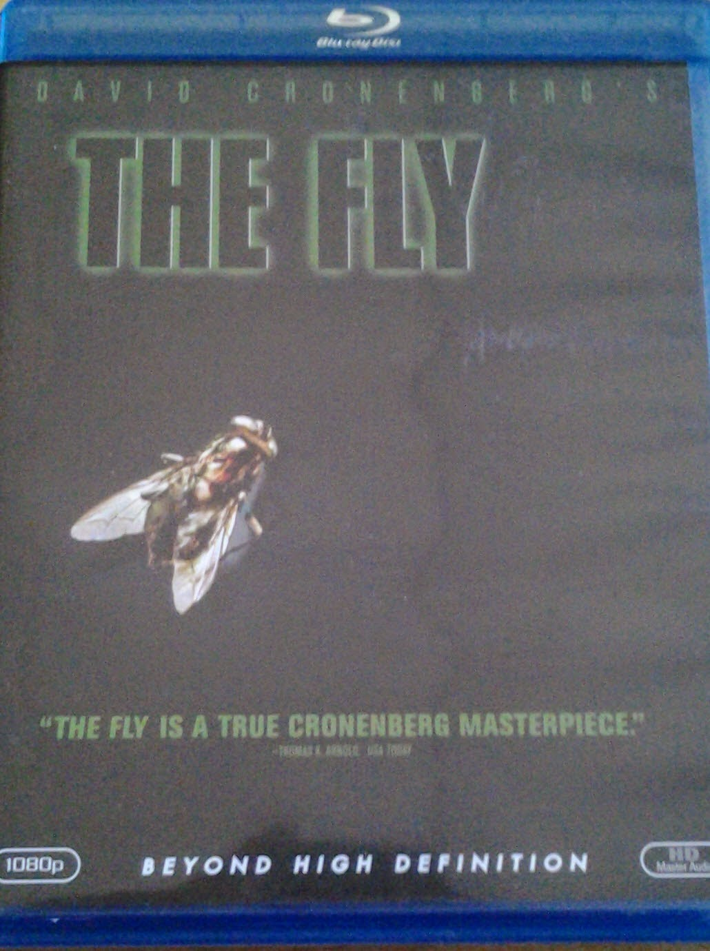 DVD Cover - The Fly