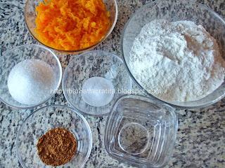 Gogosi cu dovleac ingrediente reteta