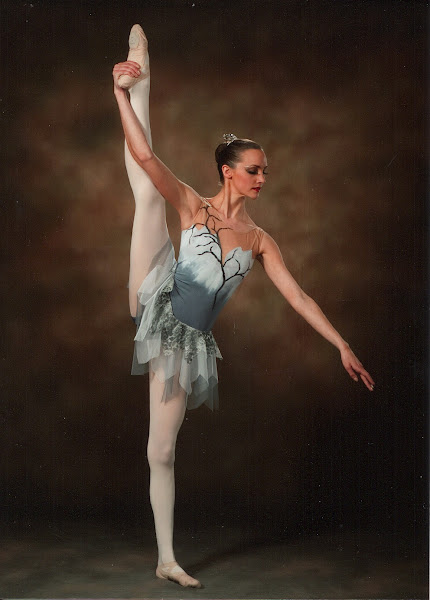 """Winter"" neo-classical costume"