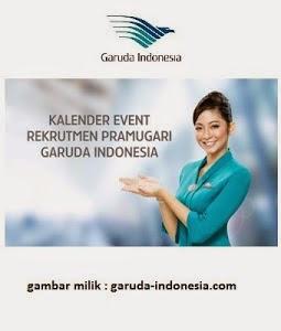 Lowongan Kerja Pramugari Garuda Indonesia Desember 2014
