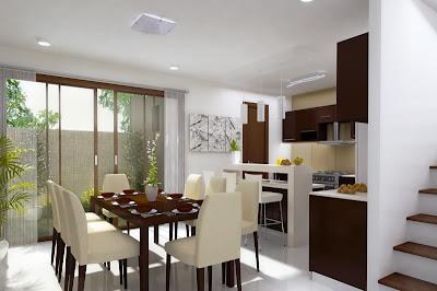 info.: hiasan ruang makan