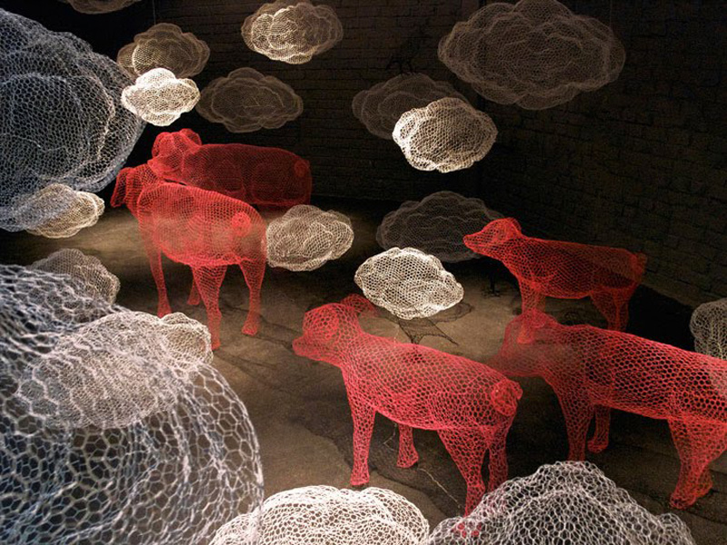 animales de granja de Benedetta Mori Ubaldini