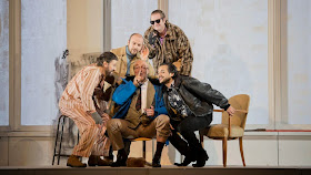 Benedict Andrews' production of La Boheme at Dutch National Opera. Photo Monica Rittershaus