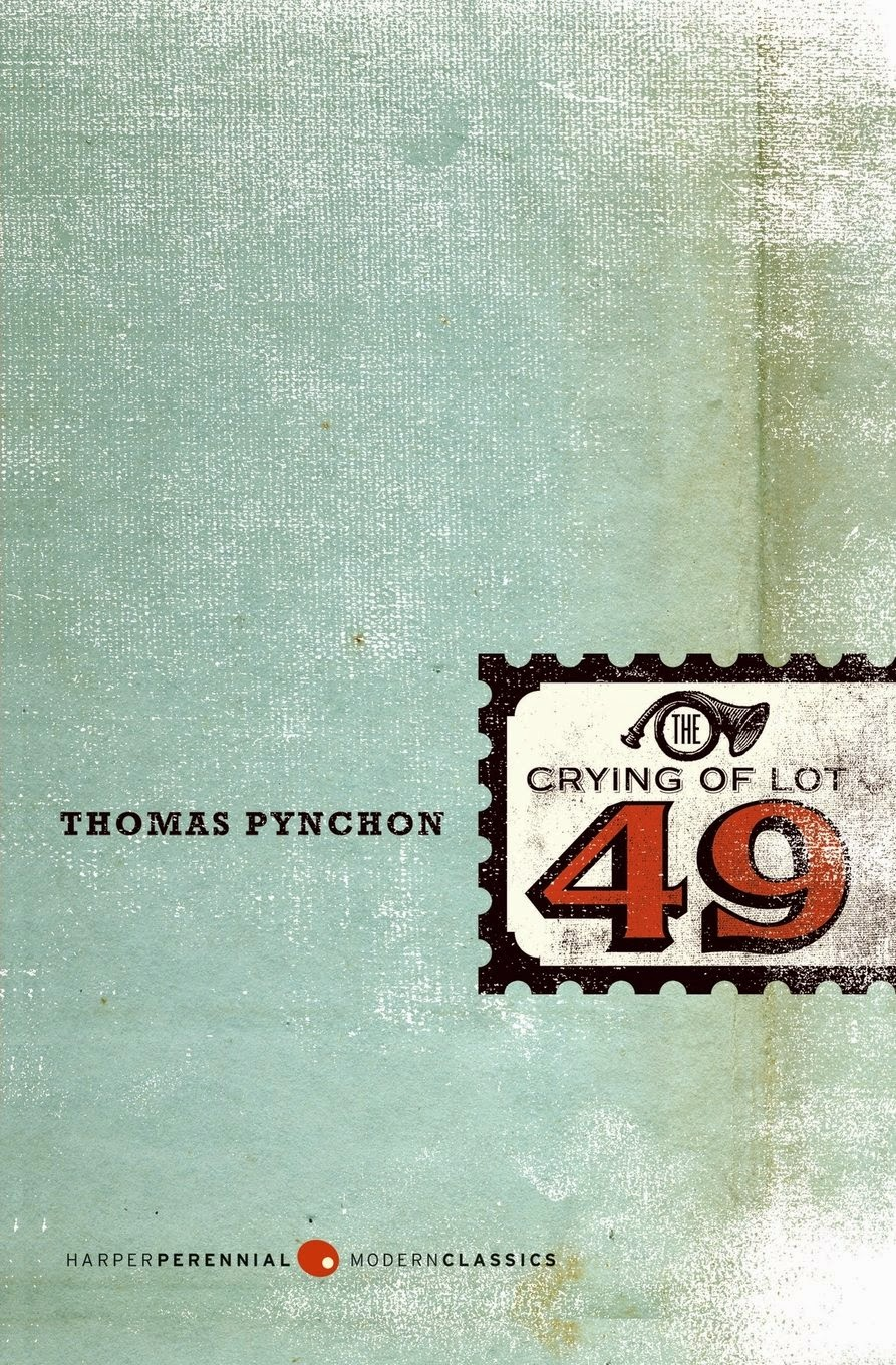 an analysis of the crying of lot 49 by thomas pynchon The crying of lot 49, published in 1966, is thomas pynchon's second novelthe shortest of pynchon's novels and often considered his most accessible, the book is about a woman, oedipa maas, possibly unearthing the centuries old conflict between two mail distribution companies, thurn und taxis and the trystero (or tristero.
