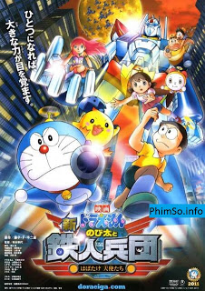 Doremon Movie 2012: Nobita Và Hòn Đảo Kỳ Tích - Cuộc Phiêu Lưu Cùng Động Vật Hoang Dã