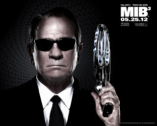 MIB 3 Men in Black 3 Poster Tommy Lee Jones as Agent K