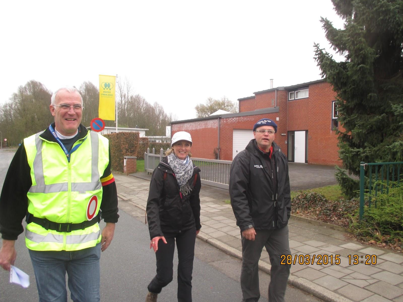 Didier, Julika en Patrick