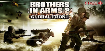 Free Download BROTHER IN ARMS 2 v1.1.8 Unlmited Money APK + DATA Android