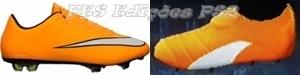 Chuteira Nike Mercurial Vapor X - PES PS2
