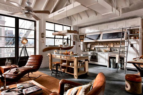 Top ideas for interior in vintage style