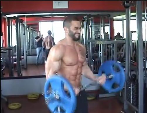 larza barbell lift