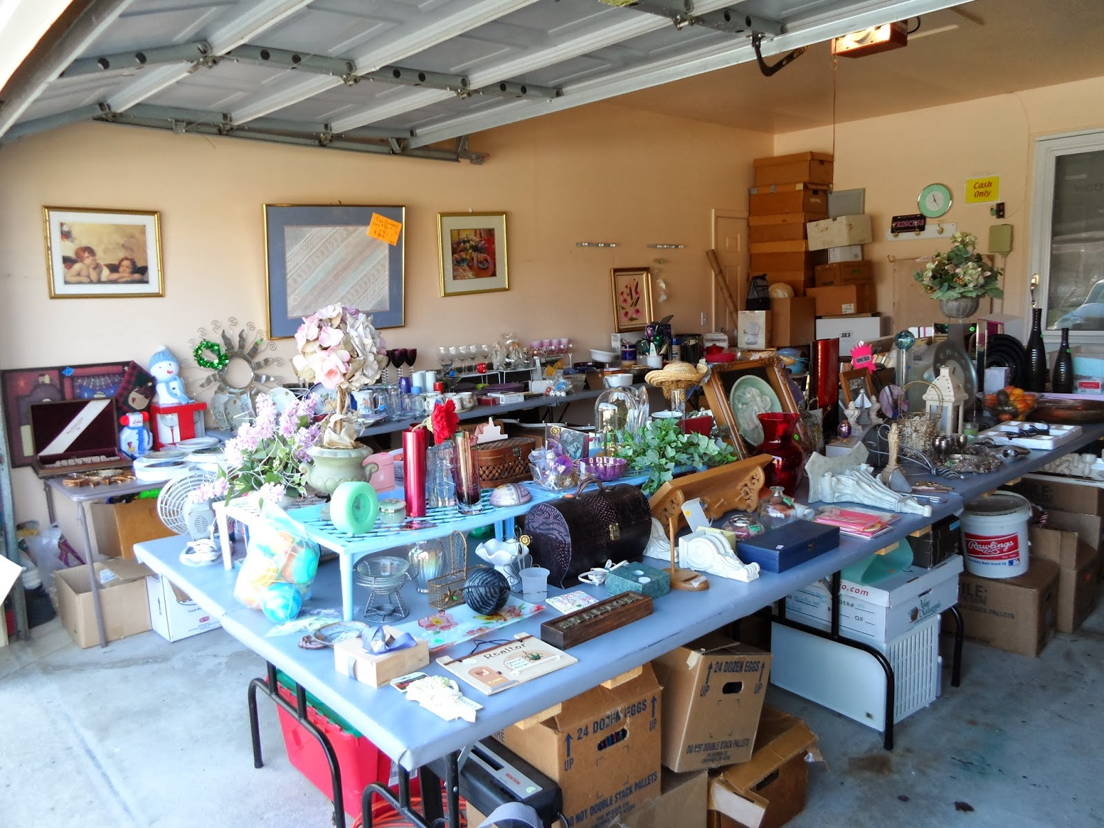 Charming Garage Sale Ideas Organize Part - 11: Hints To Help Organize Your Garage Sale