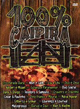 DVD - 100 % Caipira Vol. 01