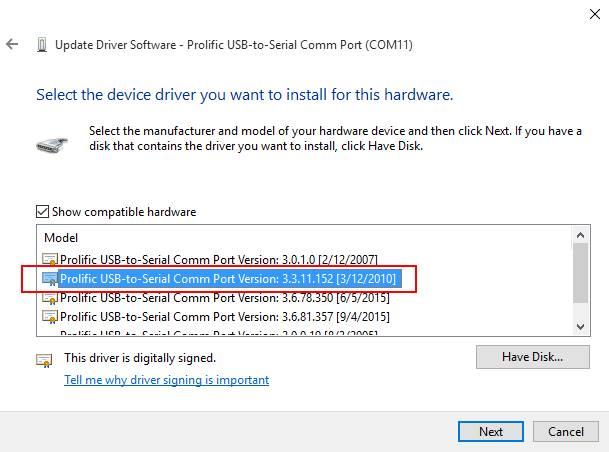 prolific driver 3.3.11.152 download