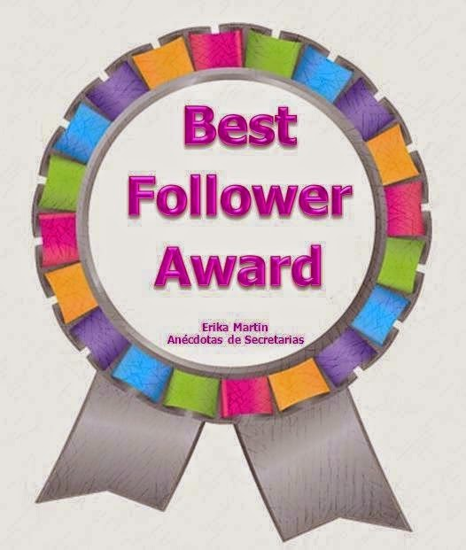 Best Follower Awad Erika Martin anécdotas de secretarias