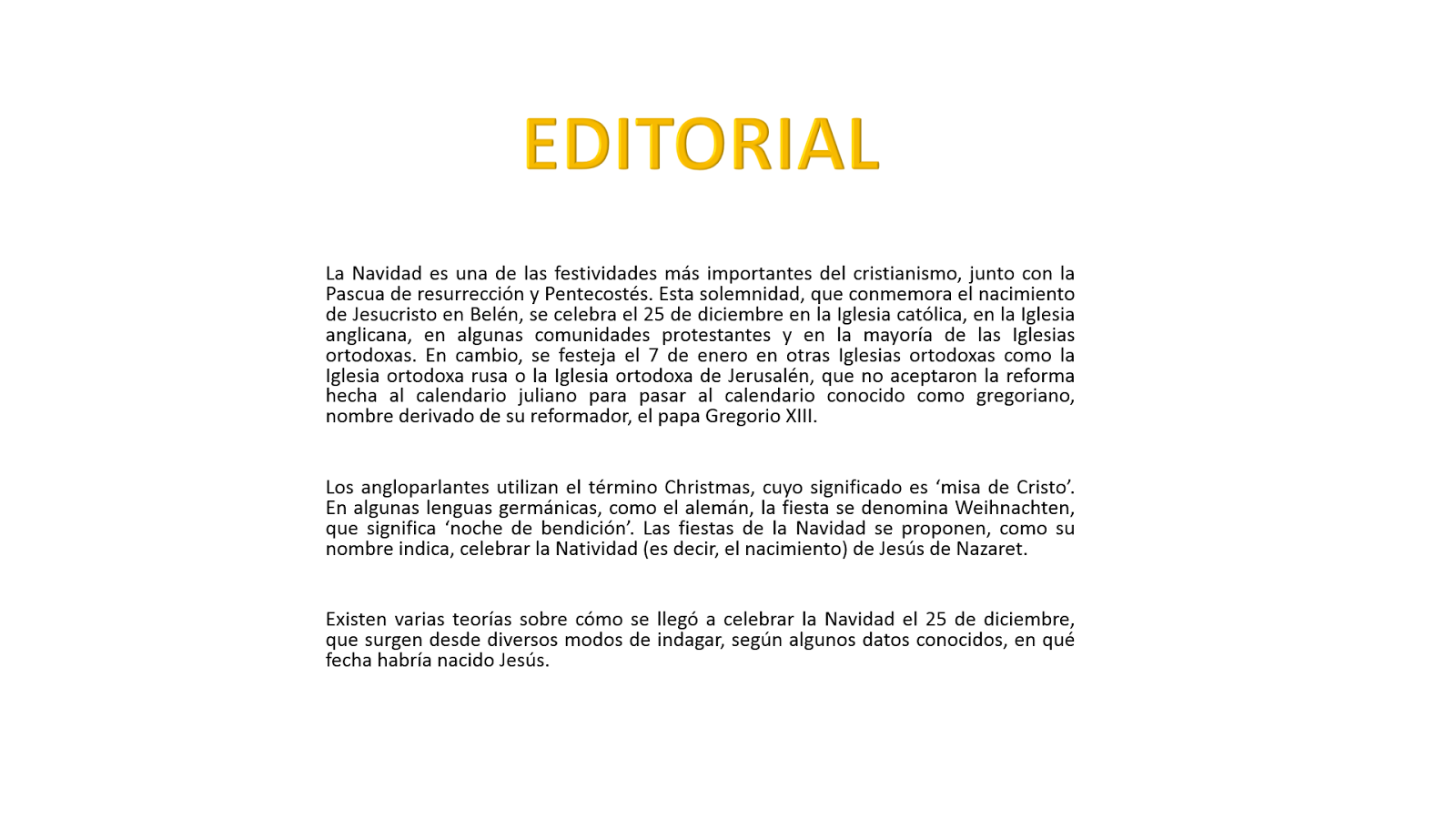 editorial periodico mes de junio qu 233 es una editorial