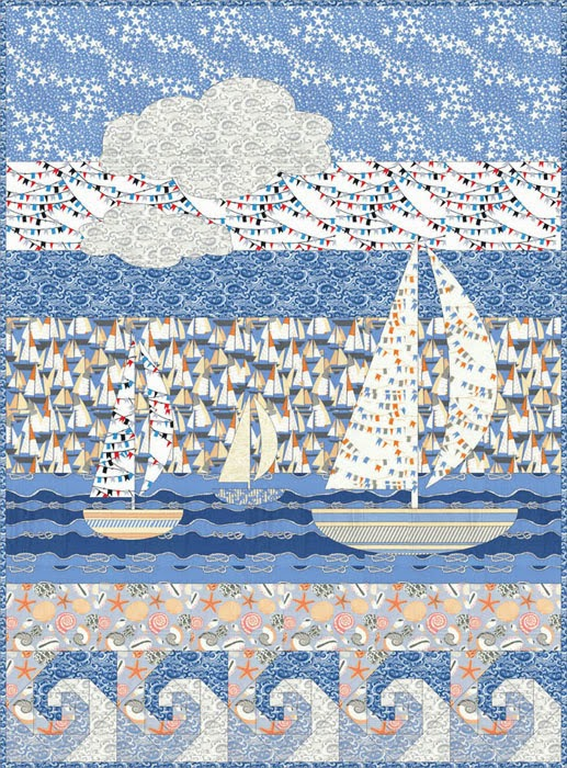 ... Boys Toys Table Runner or Wall Hanging, free pattern by Lyn Brown
